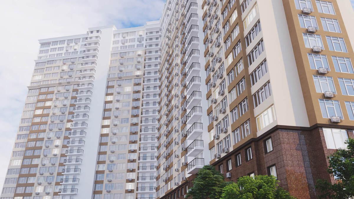 1 комнатная квартира в с видом на море в ЖК 53 Жемчужина