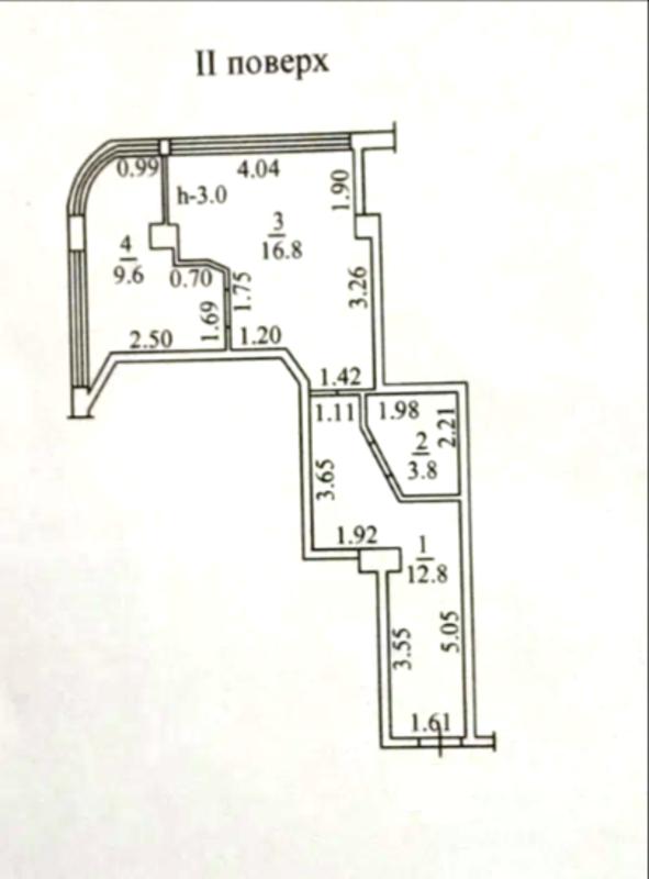 1 комнатная в Аркадии на Гагаринском Плато
