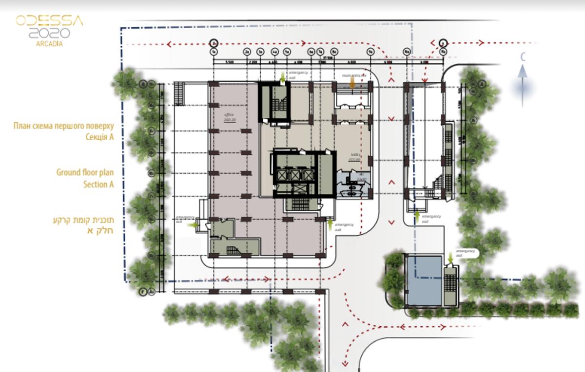 Квартира с ремонтом в элитном комплексе в Аркадии