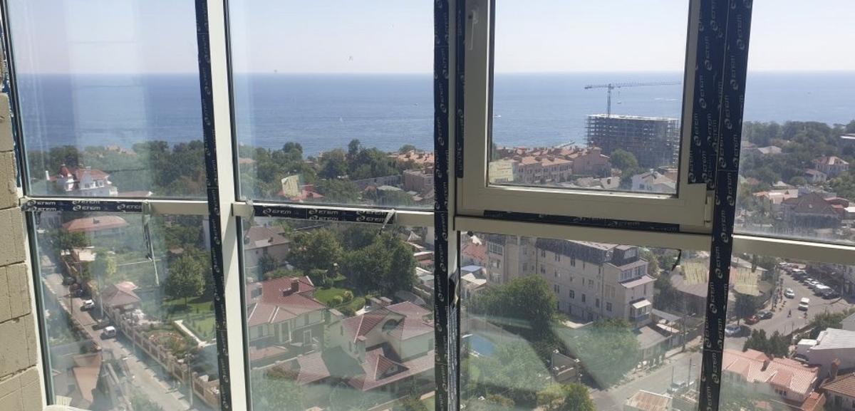 1-комнатная квартира с видом на море в Аквамарине