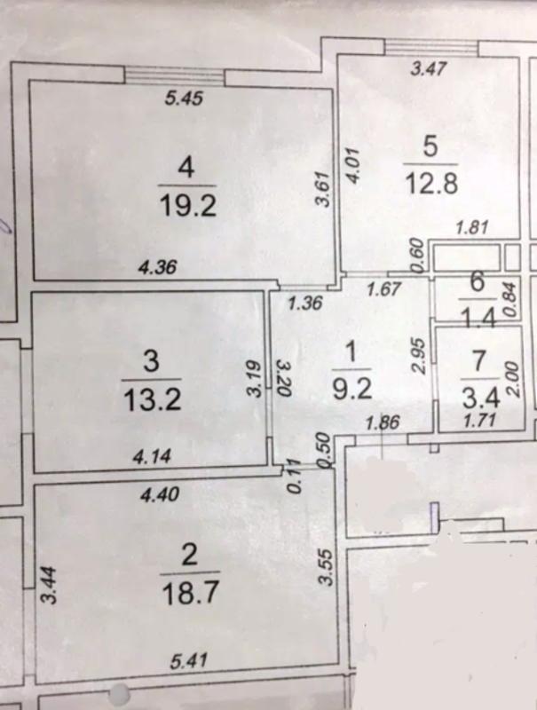 3 комнатная квартира в ЖК 46 Жемчужина
