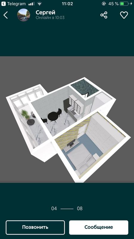 1 комнатная квартира в ЖК Брусника