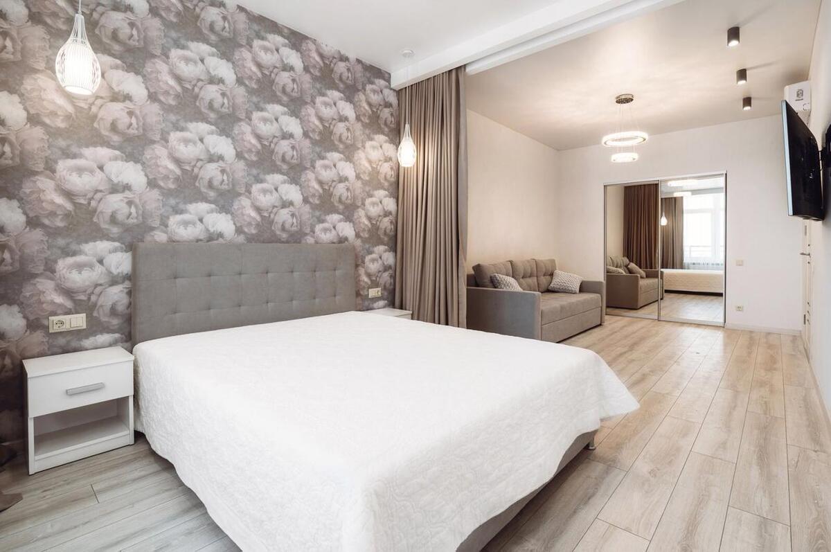 Однокомнатная видовая квартира на Генуэзской/Аркадия