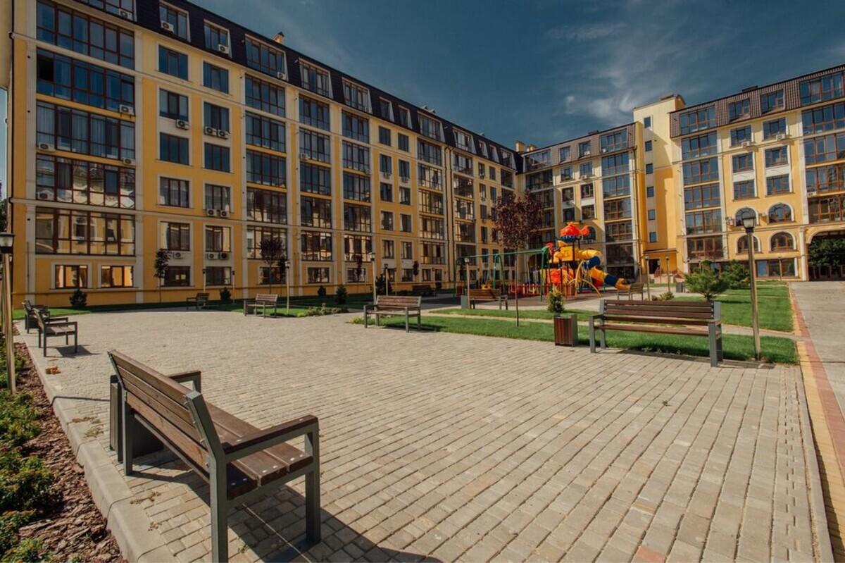 1-комнатная смарт квартира в ЖК Клаб Марин.