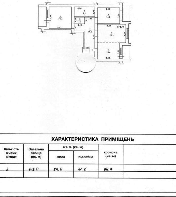 3 комнатная квартира в ЖК Адмиральский