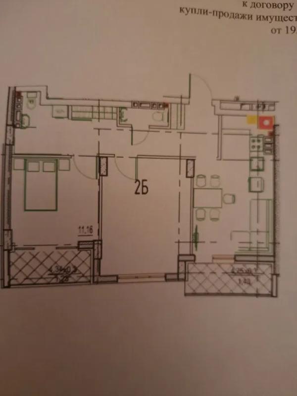 2-комнатная квартира в ЖК Дерби