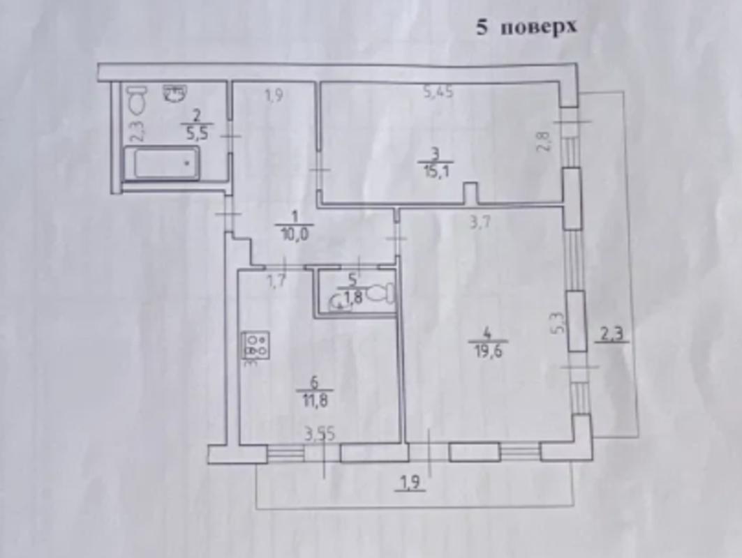 2-комнатная квартира у моря, Компасный переулок