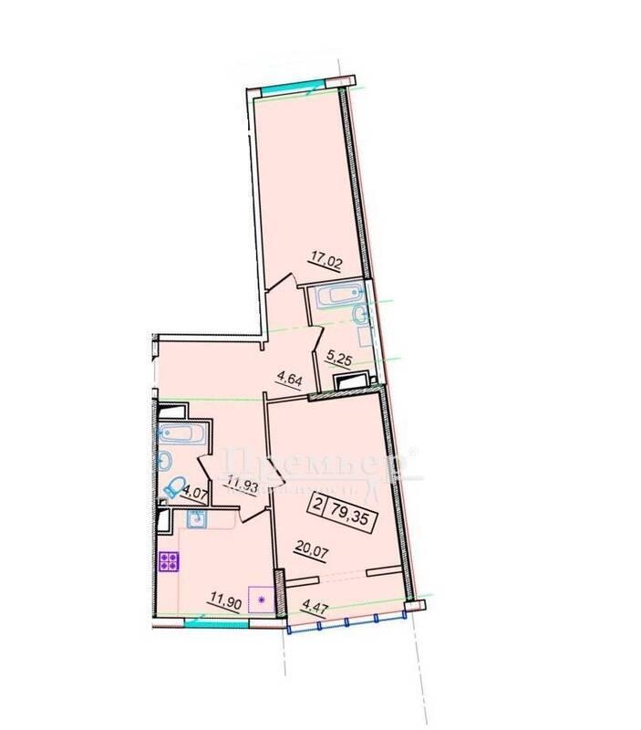 2-комнатная просторная квартира у моря в Аркадии, 36 Жемчужина