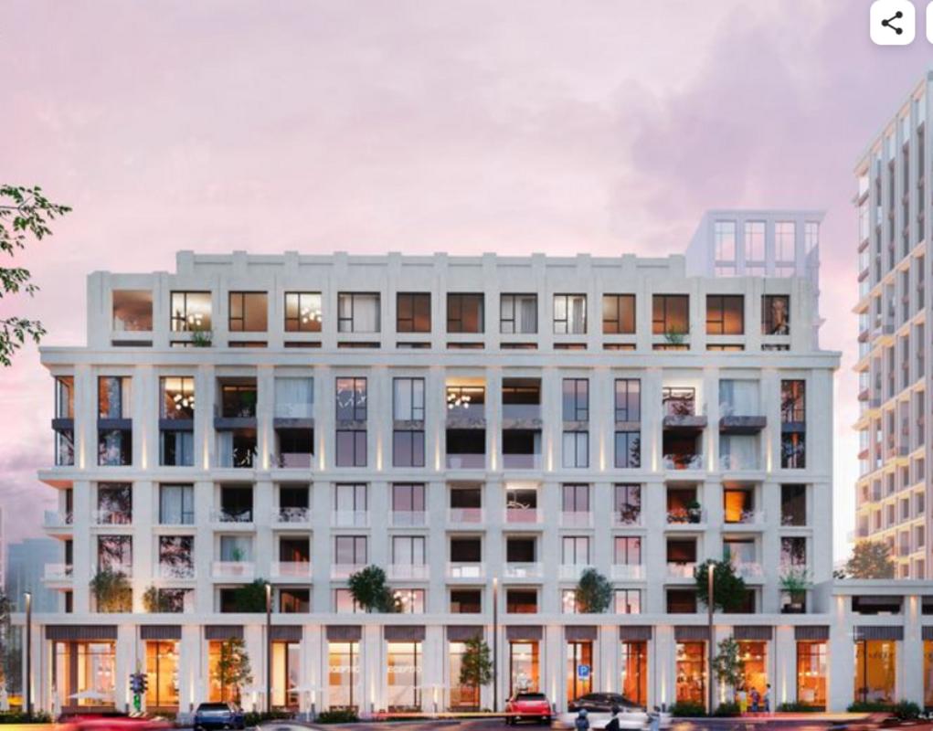 Однокомнатная квартира в Жилом комплексе Дома Тработти, Французский бульвар.