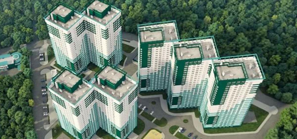 3 комнатная квартира в ЖК Альтаир 3