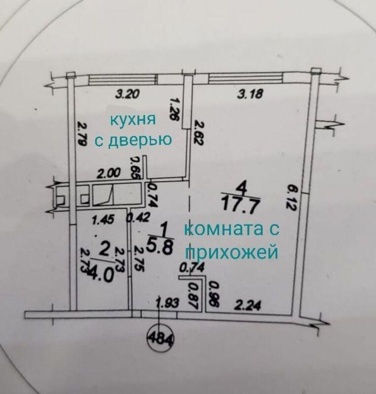 1-комнатная квартира в 27 Жемчужине