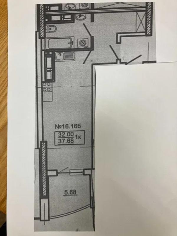 Квартира студия в ЖК Корфу