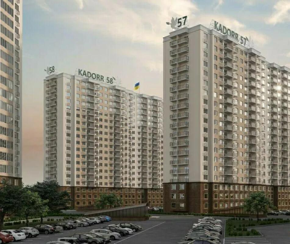 1 комнатная квартира в новом строящемся доме ЖК 58 Жемчужина