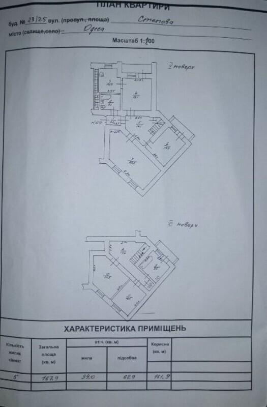 2 уровневая квартира в центре по улице Степовой