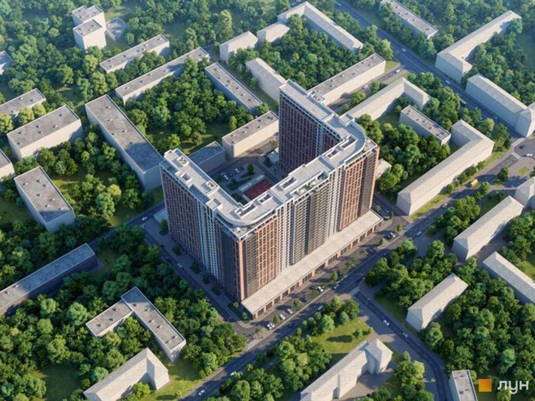 1 комнатная квартира в ЖК Оскар на улице Гагарина
