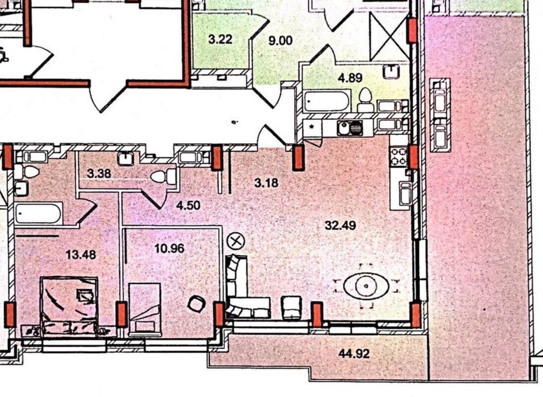 2-комнатная квартира в ЖК Дерби Стайл Хаус