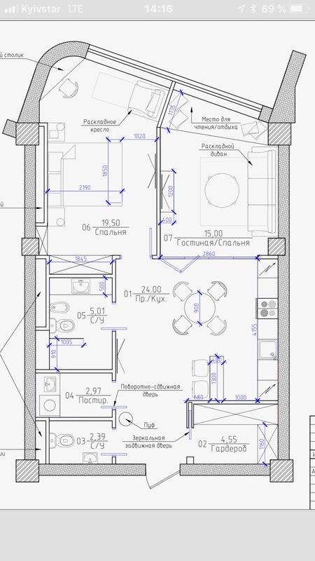 2 комнатная квартира с видом на море/ Мореходный переулок