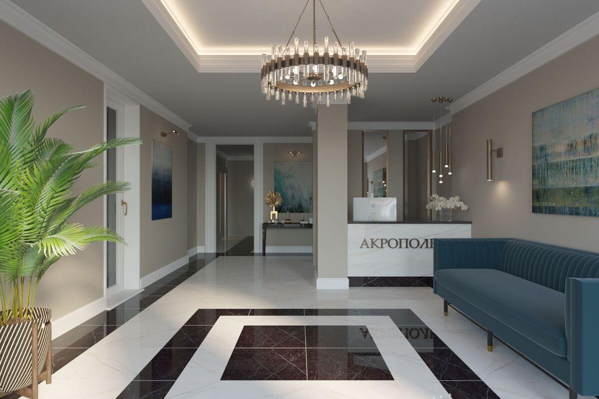 2 комнатная квартира в ЖК Акрополь-3