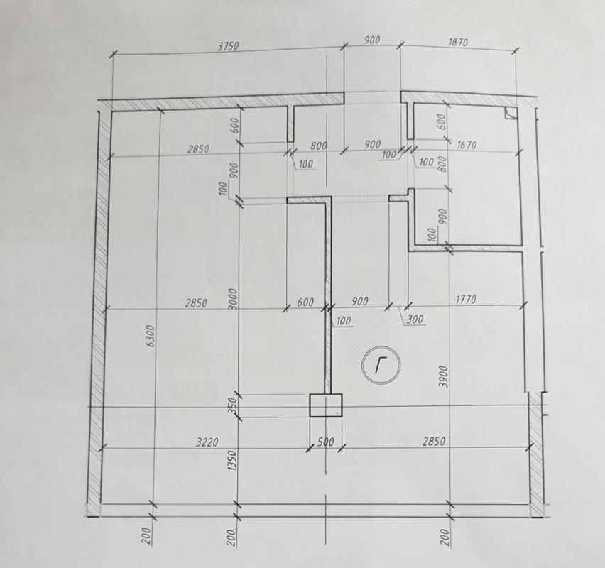 1-комнатная квартира в ЖК Море