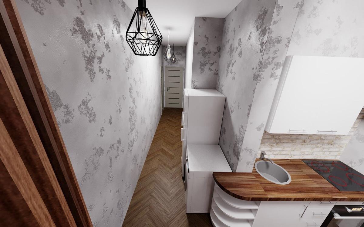 1 комнатная квартира в кирпичном доме на Вильямса