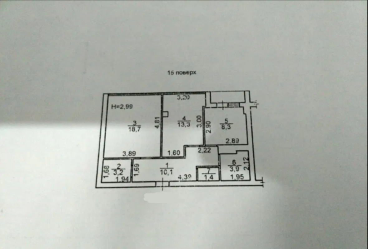 2 комнатная квартира на Таирова в 5 Жемчужине