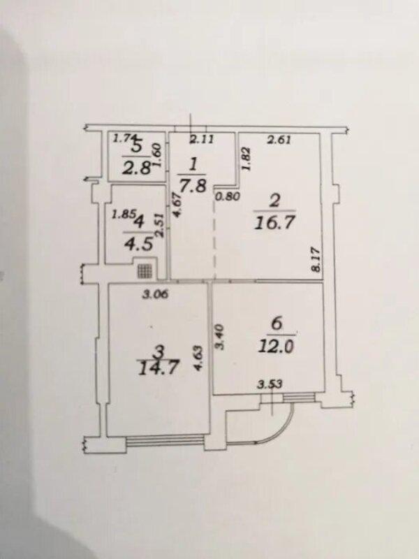 2-комнатная квартира во 2 Жемчужине