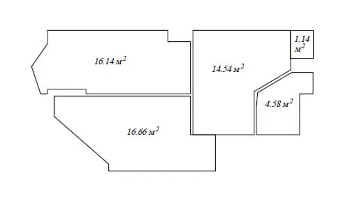 2-комнатная квартира в ЖК Аквамарин