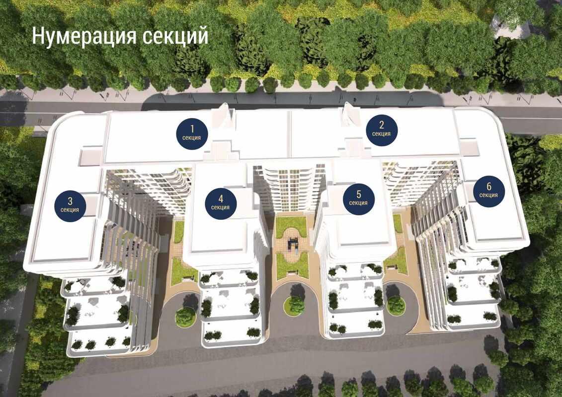 1-кмонатная квартира в ЖК Море