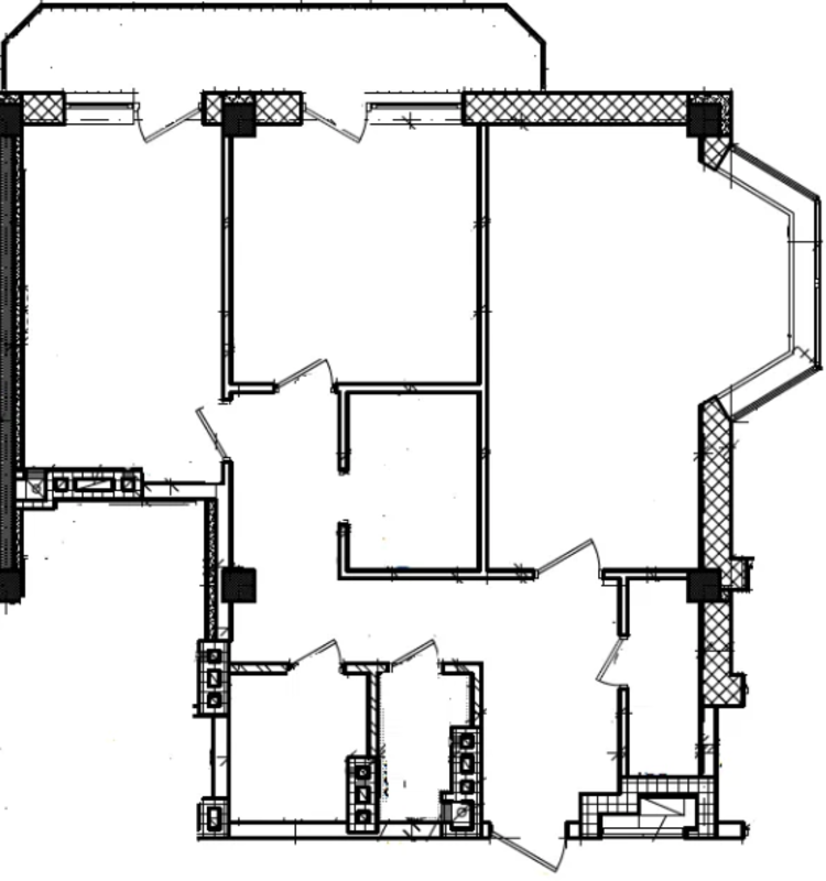 2 комнатная квартира на улице Солнечная