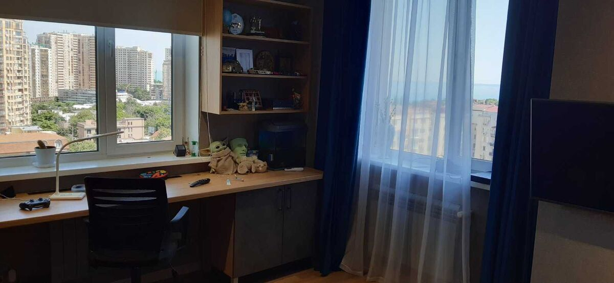 4-комнатная квартиры с видом на море