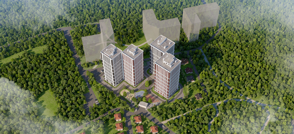 2-комнатная квартира в ЖК Си Вью
