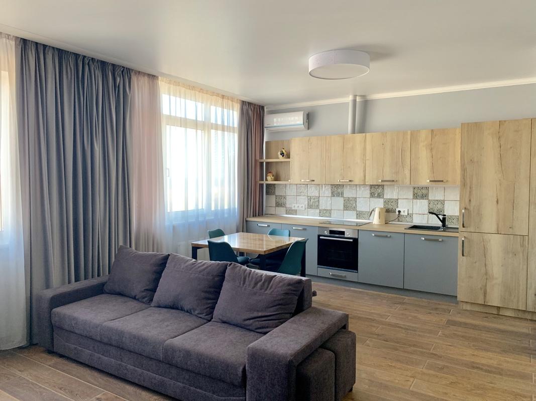 Квартира — студия на 10 станции Фонтана с видом на море