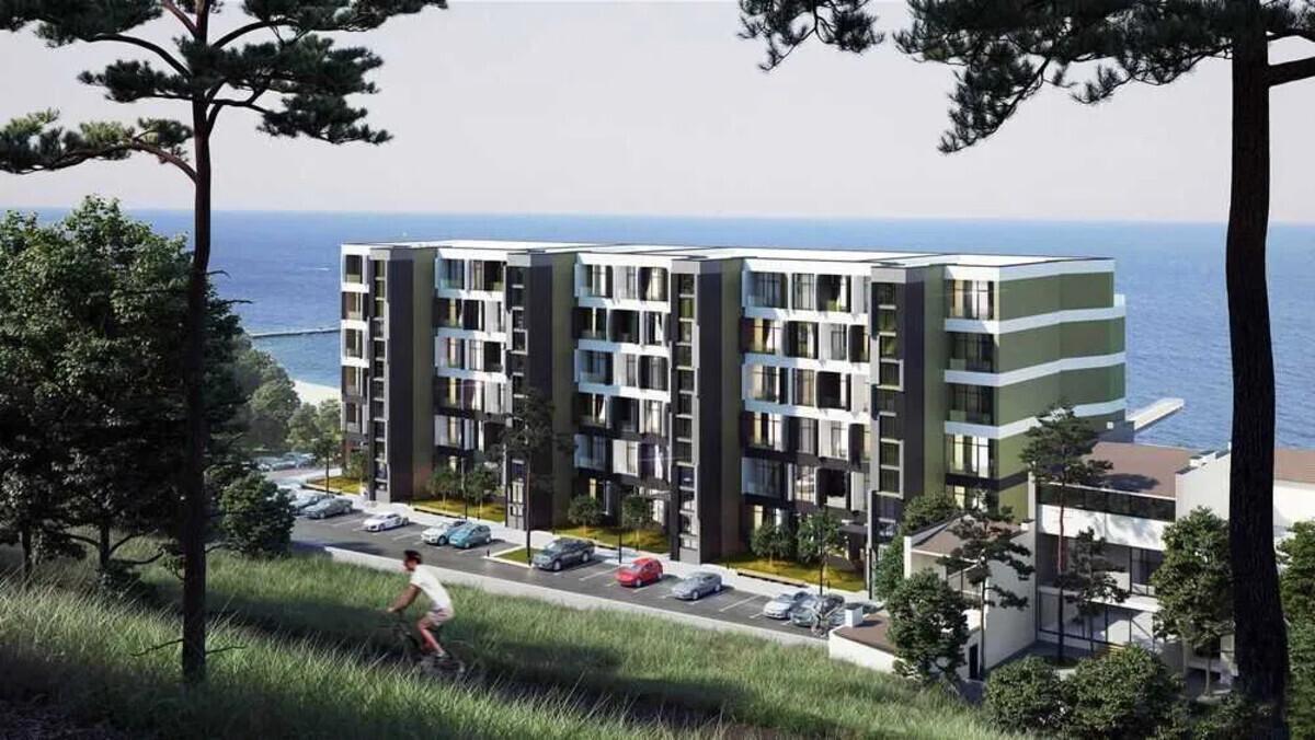 2-комнатная квартира с прямым видом моря в ЖК Магнит