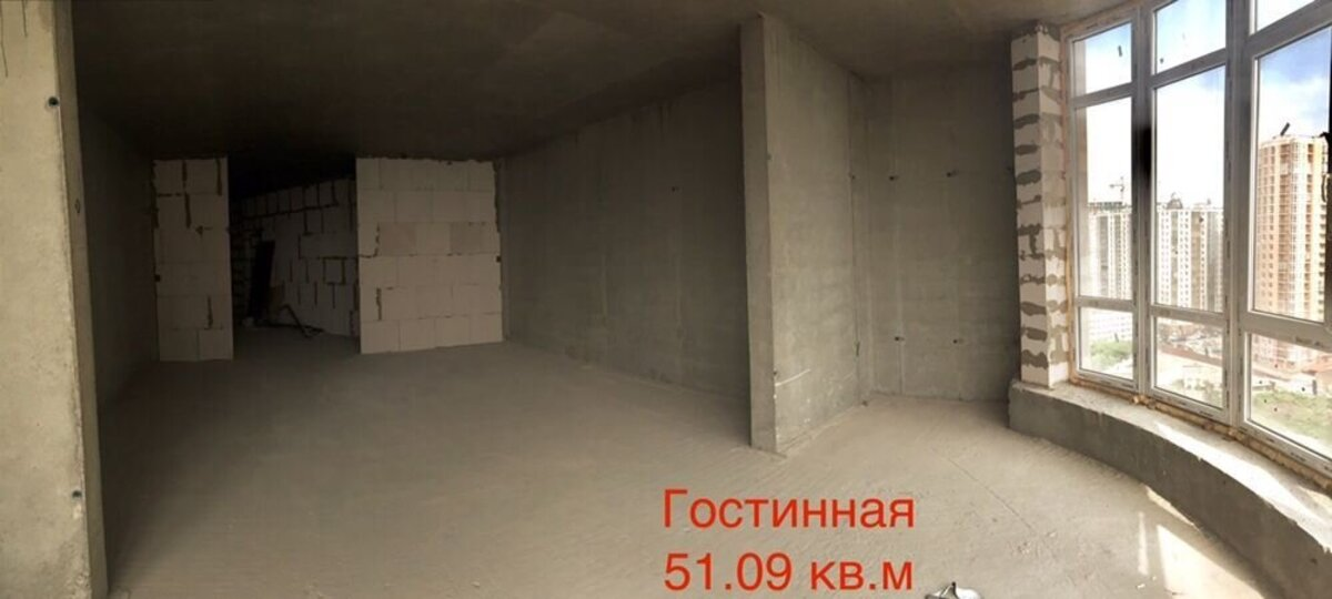 3 комнатная большая квартира в ЖК Гагарин Плаза