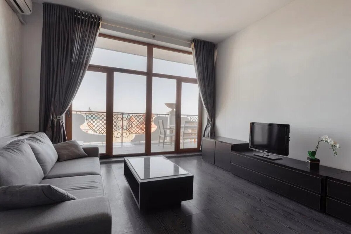 3-комнатная квартира с терассой в Аркадийском дворце