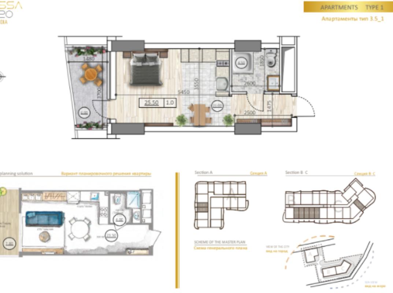 Квартира в новом элитном комплексе Премиум класса