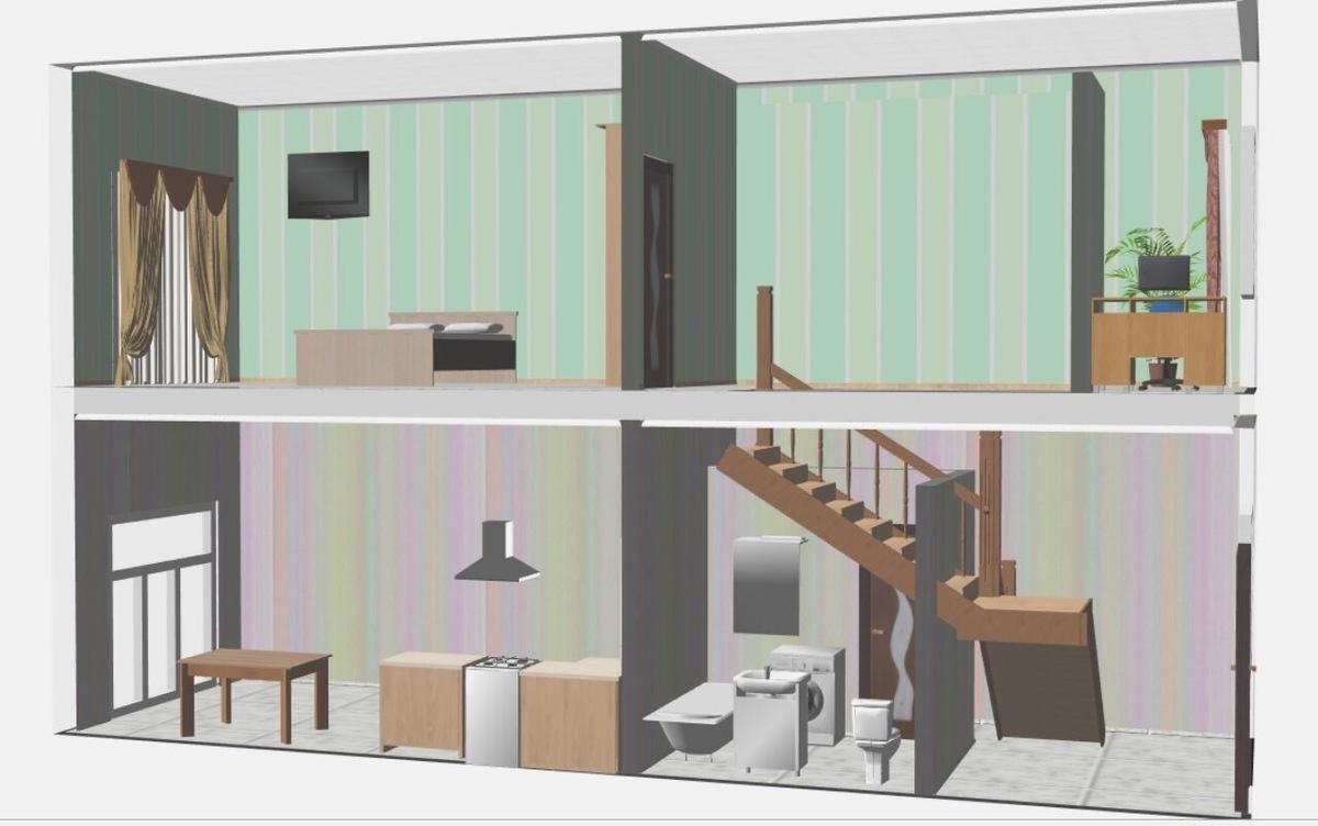 2-х уровневая квартира на улице Магистральной