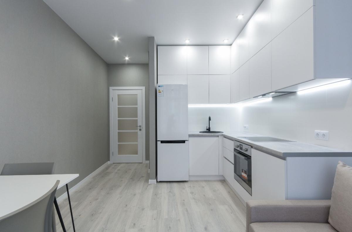 2 комнатная квартира с ремонтом в 48 Жемчужине