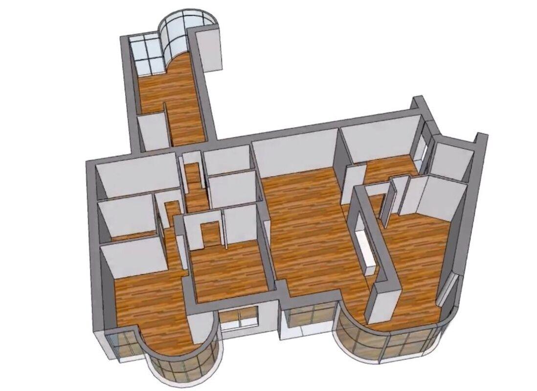 Дизайнерская квартира в элитном комплексе Мерседес