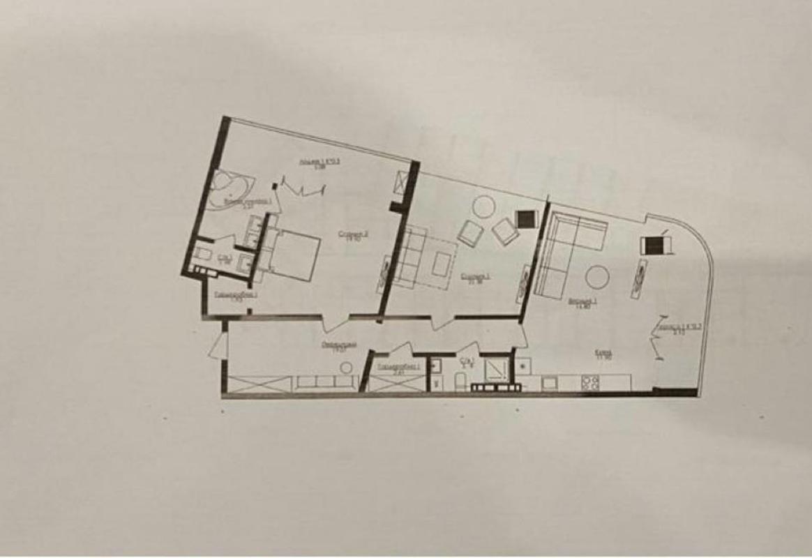 3 комнатная квартира ЖК Кандинский/Французский б-р