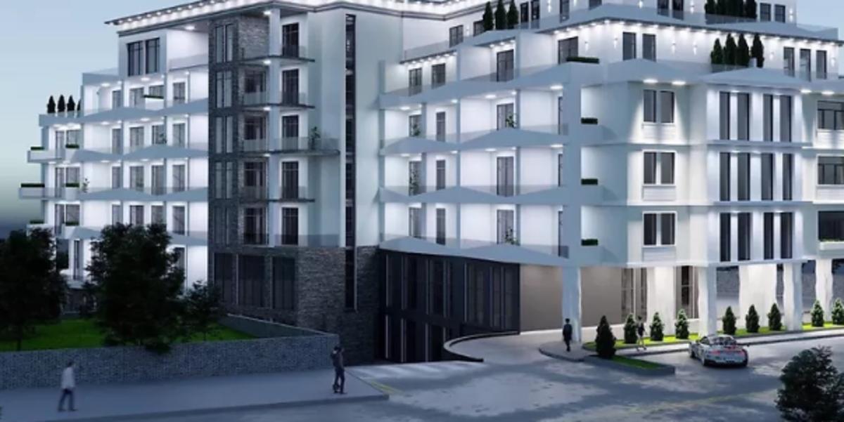 2 комнатная квартира с террасой на Каманина