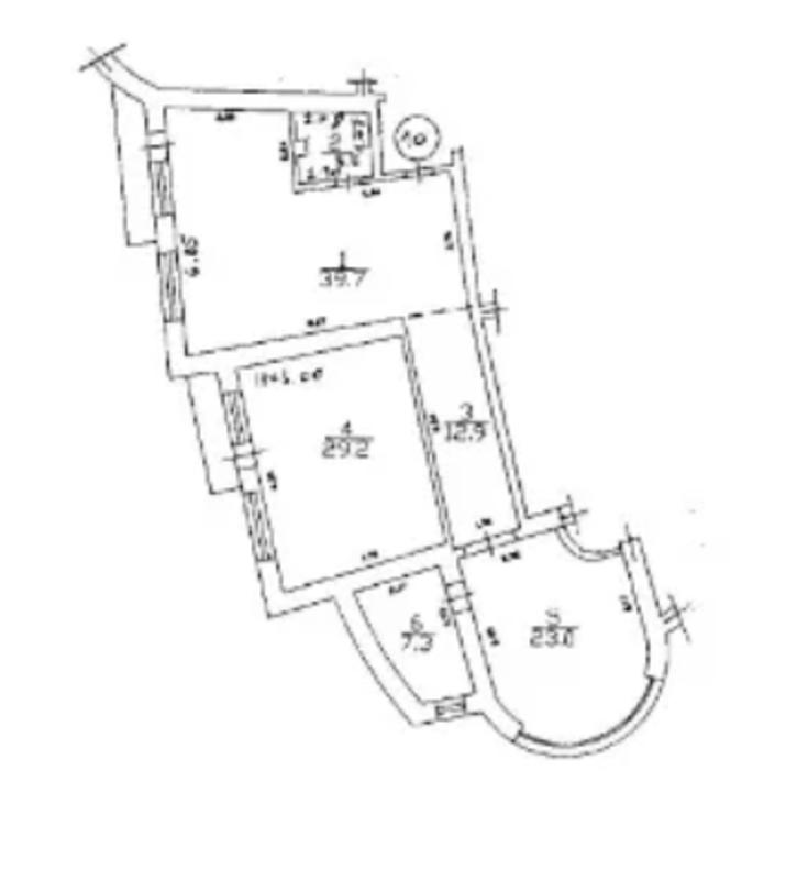 3-комнатная квартира на Левитана