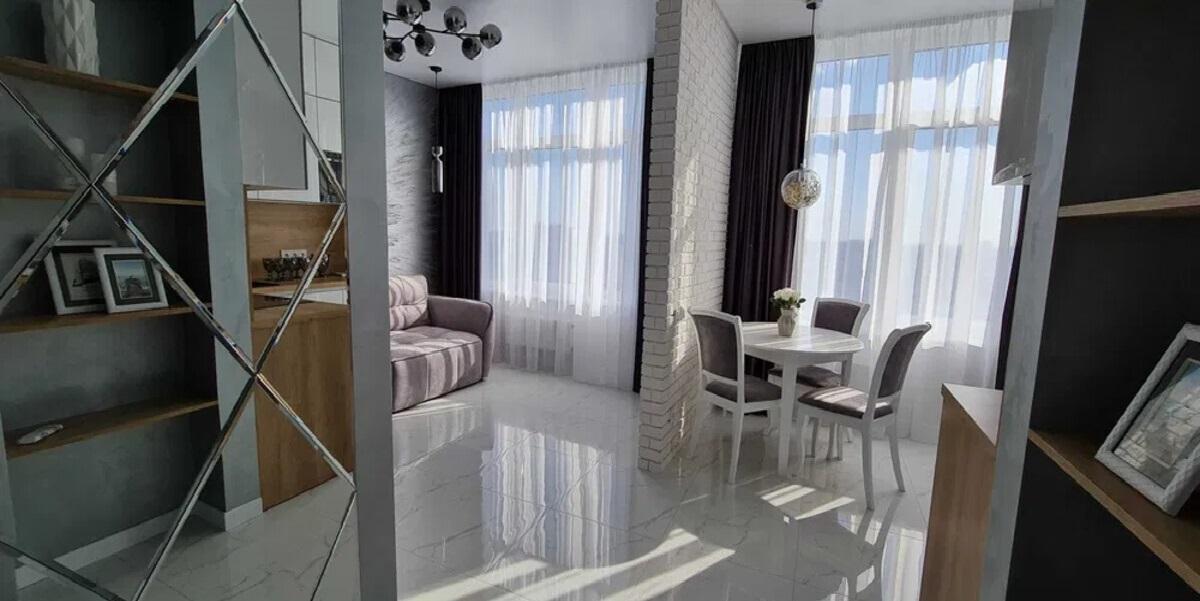 Однокомнатная квартира в Аркадии с видом на море