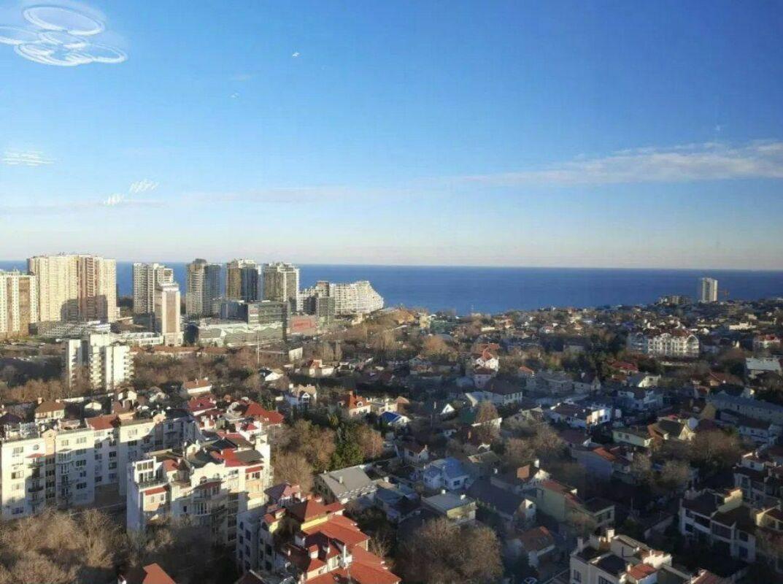 1 комнатная квартира в ЖК Лимнос с панорамой моря
