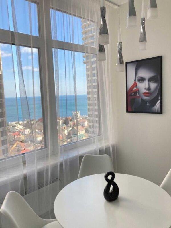 2 комнатная квартира с видом на море в 32 Жемчужине