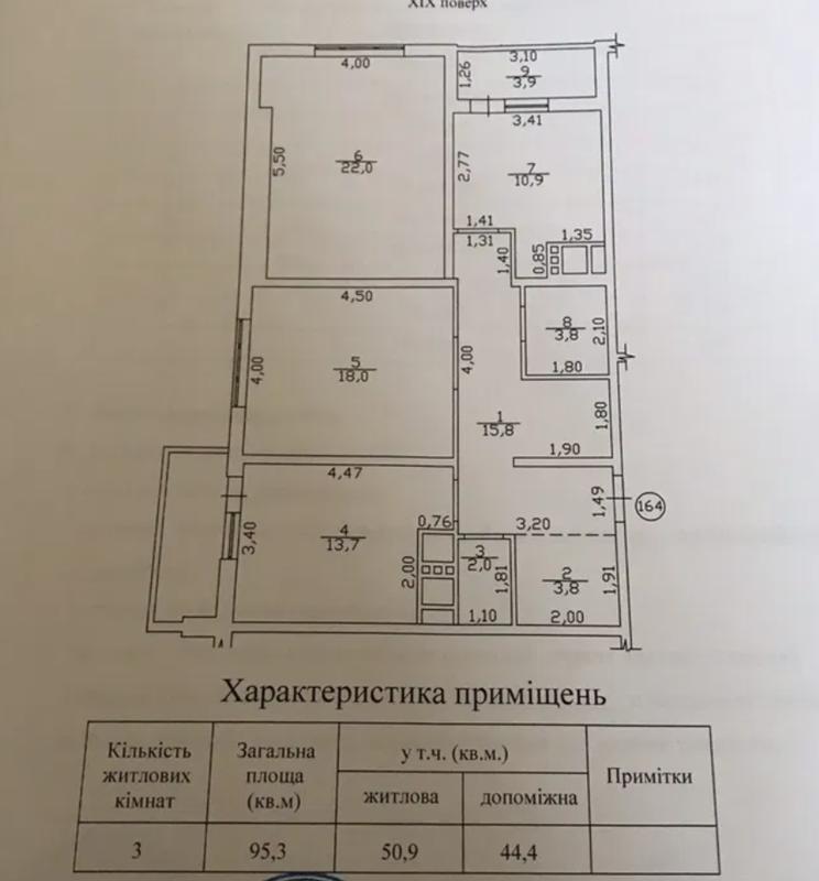 3 комнатная квартира в ЖК Апельсин