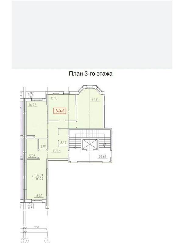 3-комнатная квартира на 10 станции Большого Фонтана
