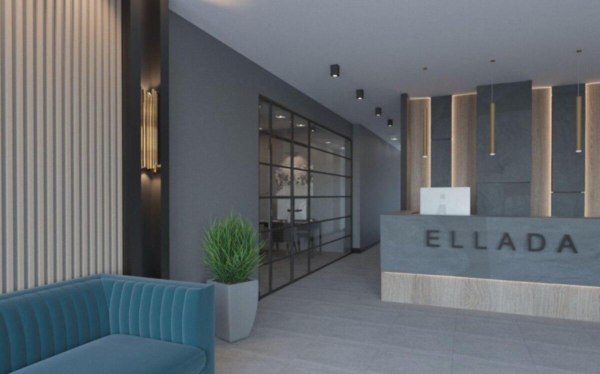 1 комнатная квартира в ЖК Эллада