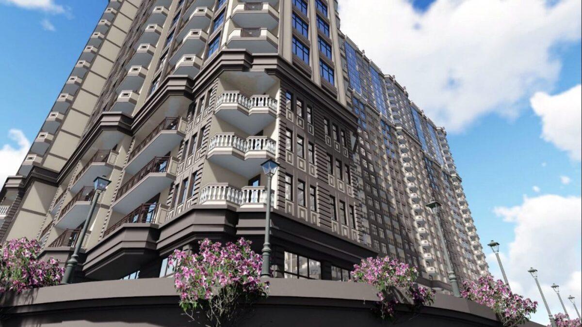 Двухкомнатная квартира в ЖК Родос