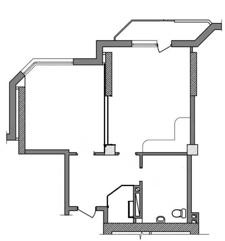 1 комнатная квартир на улице Маршала Малиновского